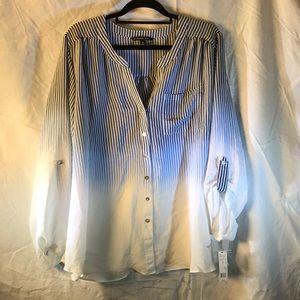 Zac & Rachel shirt tunic Sz 2X NEW!